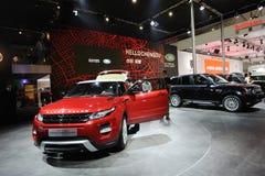 Land Rover pavilion Stock Photos