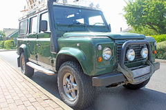 Land Rover Royalty Free Stock Photography