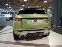 Land Rover Range Rover on Display stock photos