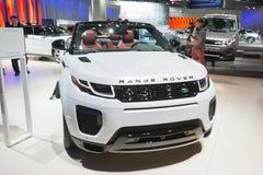 Land Rover Range Rover Evoque kabriolet Zdjęcie Stock