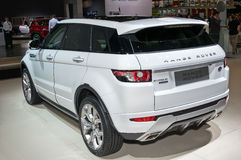 Land Rover Range Rover Evoque Stock Photo