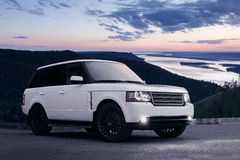 Land Rover Royalty Free Stock Images