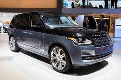 2016 Land Rover Range Rover SUV samochód Obraz Stock
