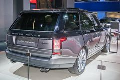 Land Rover Range Rover SV autobiografia zdjęcie stock