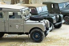 Land Rover serie Jeden w kamiennym łupie Obraz Stock