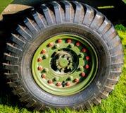 WW2 Landrover Wheel Royalty Free Stock Image