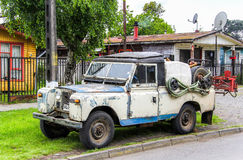 Land Rover Series III Stock Photo