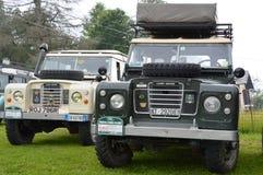Land Rover Series III 88 ` e 109 ` Lizenzfreie Stockfotografie
