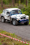 Land Rover Tomcat rally Stock Photo