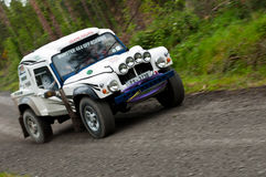 Land Rover Tomcat rally Royalty Free Stock Photography