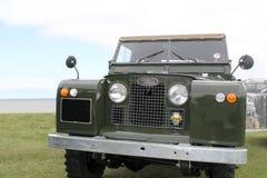 Land Rover tre serier Arkivfoto