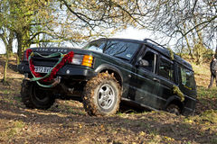Land Rover trials Royalty Free Stock Photography