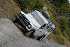 Land rover trip Royalty Free Stock Photos