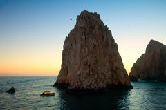 Land's End and The Arch in Cabo. San Lucas, Mexico Stock Photos