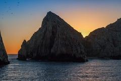 Land's End in Cabo San Lucas, Messico Immagine Stock Libera da Diritti