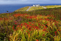 Land's End in Cornwall Royalty Free Stock Photo