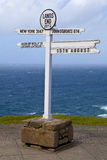 Land's End in Cornwall Stock Photography