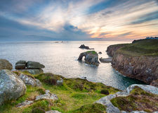 Land's End in Cornwall stock foto
