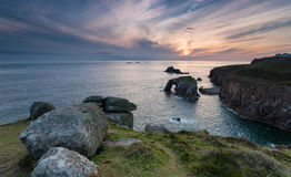 Land's End in Cornwall Royalty Free Stock Image