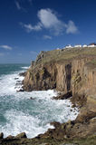 Land's end, Cornwall. England Royalty Free Stock Photo