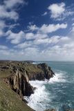 Land's end, Cornwall. England Royalty Free Stock Photography