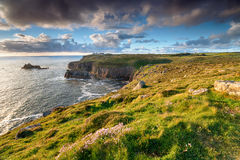 Land`s End in Cornwall Royalty Free Stock Photography