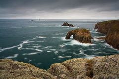 Land's End, Cornwall, UK. Stock Images