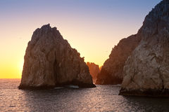 Land's End dans Cabo San Lucas, Mexique Photo stock
