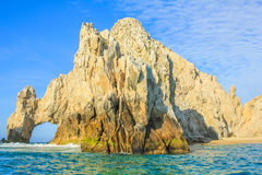 Cabo San Lucas Arch. Los Arcos rock formation at Lands End in Cabo San Lucas, Baja California Sur, Mexico Royalty Free Stock Photography