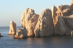 Land's End Formation. Land's End, rock formation in Cabo San Lucas Mexico Stock Images