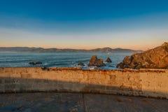 Land's End-Sonnenuntergang Stockfotos