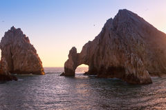 Land's End at Sunset, Mexico Stock Photography