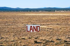 Land for Sale Stock Photos