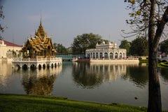 Land scape at Bang-Pa-In Summer Palace stock photo