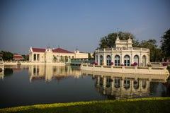 Land scape at Bang-Pa-In Summer Palace royalty free stock photos