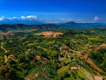 Land scape in combia Risaralda royalty free stock image