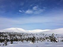 Land-Schnee Stockfotos
