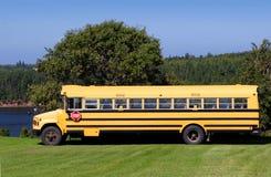 Land-Schulbus Lizenzfreie Stockfotos