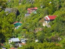 Land-Seite der Baguio-Stadt, Philippinen Lizenzfreie Stockfotografie