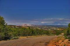 Land shaft of Utah Stock Photo