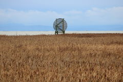 Land and Shore Navigational Marker Stock Photography