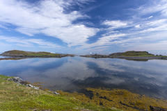 Land and sky at Fogo Island Stock Images