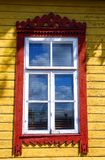 Land-stijl venster Stock Afbeelding