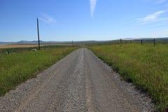 Land-Straße Stockfoto