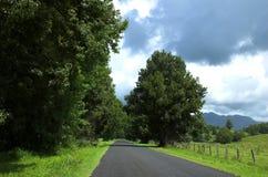 Land-Straße lizenzfreies stockbild