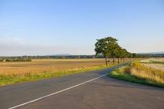 Land-Straße Lizenzfreies Stockfoto