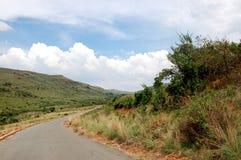 Land-Straße - Südafrika Stockbilder