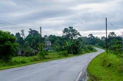 Land-Straßen Stockfotografie