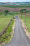 Land-Straßen-Vertikale Stockbilder