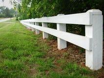 Land-Straßen-Zaun Lizenzfreies Stockfoto